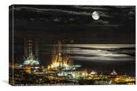 Dundee City, Canvas Print