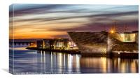 V&A Museum in Dundee, Canvas Print