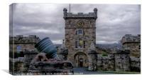 Culzean Castle Clock Tower, Canvas Print