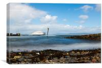 Ferry to Cumbrae, Canvas Print