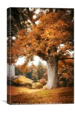 Autumn at Blair Castle, Canvas Print