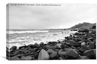 Staffin Beach 001-1, Canvas Print