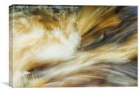 Turbulence, Canvas Print