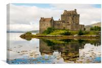 Eilean Donan Castle 2nd September 2015, Canvas Print