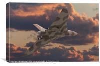 Avro Vulcan Flyby, Canvas Print
