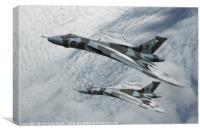 Vulcans To The Skies, Canvas Print