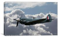 The Last Spitfire Flyby, Canvas Print