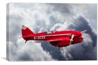 de Havilland Comet Racer DH88  3/3, Canvas Print