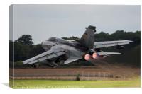 Panavia Tornado Reheat Take Off, Canvas Print
