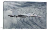 Sukhoi Su30 Hihg Flying Super Jet, Canvas Print