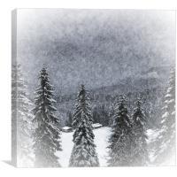 Bavarian Winter's Tale I, Canvas Print