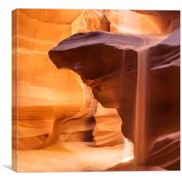 ANTELOPE CANYON Pouring Sand, Canvas Print