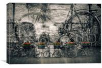 AMSTERDAM Bicycle Nostalgia, Canvas Print