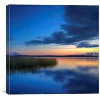 FINLAND Lakeside View, Canvas Print