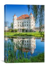 Wojanów Palace near Jelenia Góra, Canvas Print