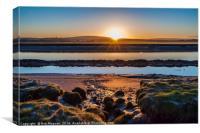 Sunrise over Lancaster, Canvas Print