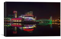 Salford Quays Manchester UK, Canvas Print