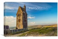 The Pigeon Tower,Rivington UK, Canvas Print