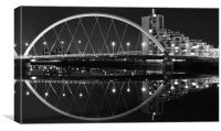 Clyde Arc Bridge, Canvas Print