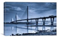The Queensferry Crossing, Canvas Print