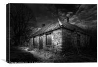 Derelict Cottage, Canvas Print