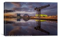 Glasgow Clydeside, Canvas Print