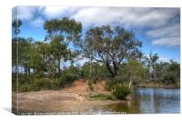 Collie River Valley, Canvas Print