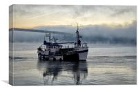 A cold start for the Fishermen, Canvas Print