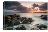St Ives sunrise, Canvas Print