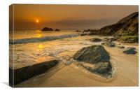 Beautiful at St Ives, Canvas Print