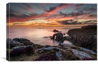 Divine display at Land's End, Canvas Print
