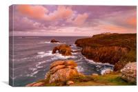 Sublime Land's End sunrise, Canvas Print