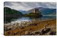 Eileen Donan castle, Scotland. , Canvas Print