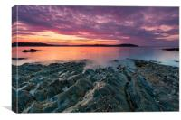 Carrick Roads Sunrise, Canvas Print