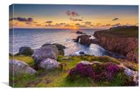Iconic Land's End , Canvas Print
