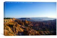 Bryce Canyon at Midnight, Canvas Print