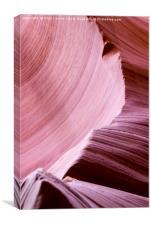 Antelope Canyon Walls, Canvas Print