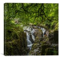 The Hermitage at Dunkeld, Perthshire, Canvas Print