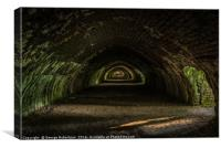 Hoffman Kiln at Craven Lime Works , Canvas Print