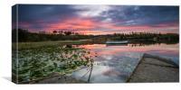Loch Rusky at Dawn, Canvas Print