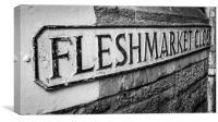 Fleshmarket Close, Canvas Print