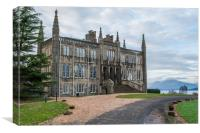 Ross Priory on shores of Loch Lomond, Canvas Print