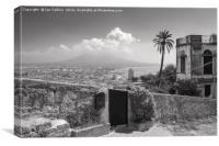 Naples and Vesuvius, Canvas Print