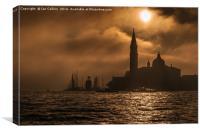 Misty San Giorgio Maggiore, Canvas Print