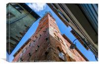 Guinigi Tower, Lucca, Canvas Print