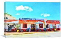 Fisherman's Pub, Canvas Print