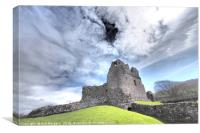 Ogmore Castle                                     , Canvas Print