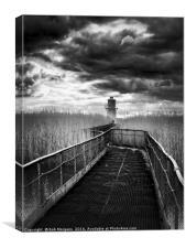 Newport Lighthouse                                , Canvas Print