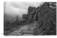 The Leaning Tower Of Cwmyoy                       , Canvas Print