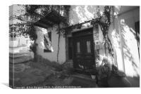 Skopelos Town , Canvas Print